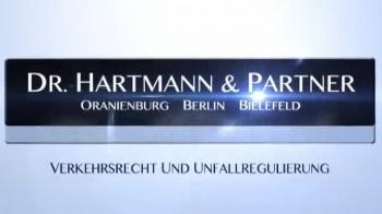 Unfallregulierung durch die Haftpflichtversicherung, Anwalt Dr. Hartmann aus Oranienburg berät
